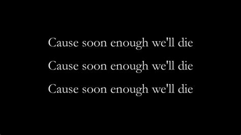 Dead Tomorrow By We Might Be Dead By Tomorrow By Soko Lyrics