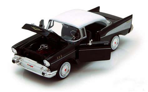 Motormax 1957 Chevy Bel Air Skala 124 Hijau motor max 1 24 1957 chevy bel air siyah model araba