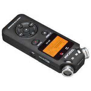 tascam dr 05 portable handheld audio recorder at gear4music