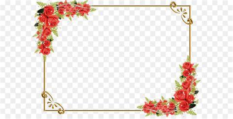 drawing flower clip art red rose border  transprent png   picture frame