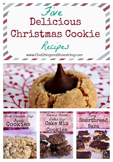 delicious christmas cookie recipes freezer baking
