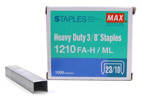 Diskon Staples Max 1210fa H max staples 1210fa h bullet 3 8 quot end 5 24 2017 4 05 pm