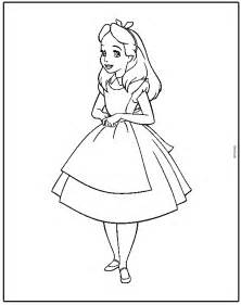 alice wonderland coloring pages alice wonderland guide camp theme