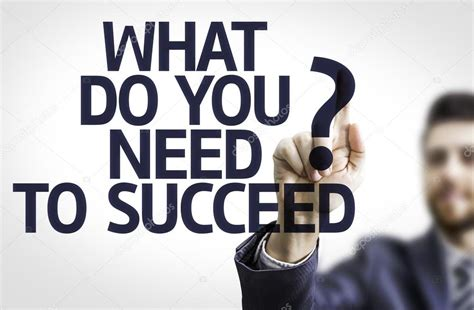 what does to you board with text what do you need to succeed stock