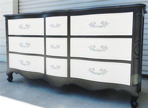 Black White Dresser Black And Silver Dresser Home Furniture Design