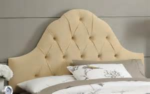 Tufted Upholstered Headboard Arch Tufted Upholstered Headboard Rosenberryrooms