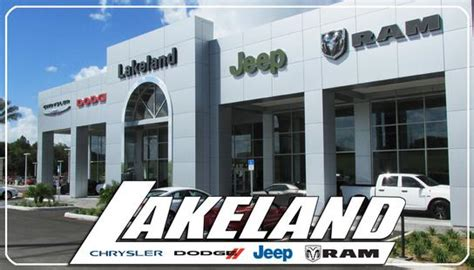 Lakeland Chrysler Dodge Jeep Ram by Lakeland Chrysler Dodge Jeep Ram Open 7 Days Lakeland