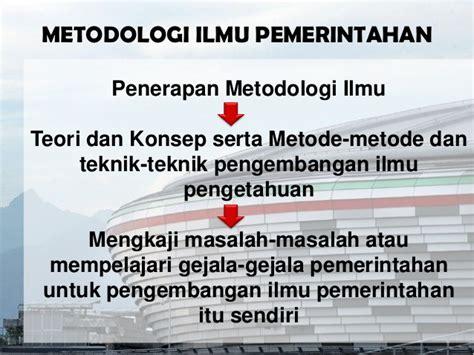 Buku Filsafat Ilmu Dan Metodologi Penelitian Ilmu Pemerintahan Ka metodologi ilmu pemerintahan