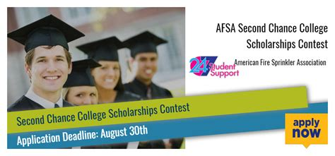 College Scholarship Sweepstakes - afsa second chance college scholarships contest 2017 2018 usascholarships com