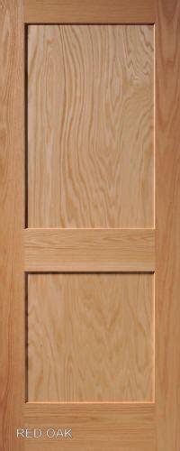 2 Panel Oak Interior Doors Oak Mission 2 Panel Wood Interior Doors Homestead Doors