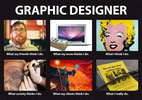 Graphic Designer Meme - image 250297 what people think i do what i really
