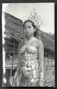 Details About Dayak Girl Photo Costume Jewels Borneo | details about dayak girl photo costume jewels borneo