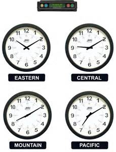 brg analog time zone clocks