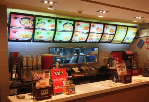 restaurants with light menus fast food restaurant led menu light box buy menu light