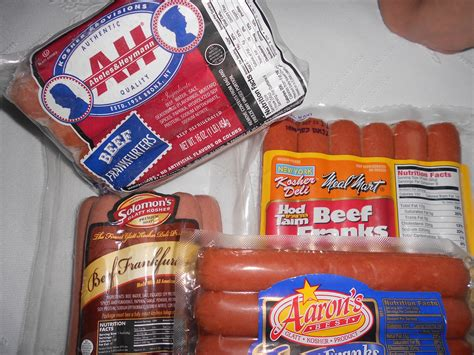old hot dog brands hebrew national beef hot dogs nutrition facts nutrition