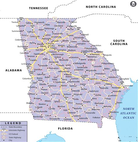 map of georgia cities cities in georgia usa map of georgia state map of usa