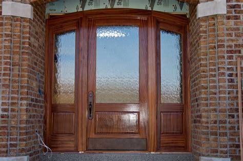 Sapele Exterior Doors Exterior Sapele Door And Sidelites By Brien Lumberjocks Woodworking Community