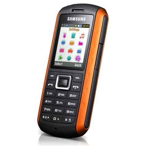 orange mobile samsung solid gt b2100i noir orange mobile smartphone