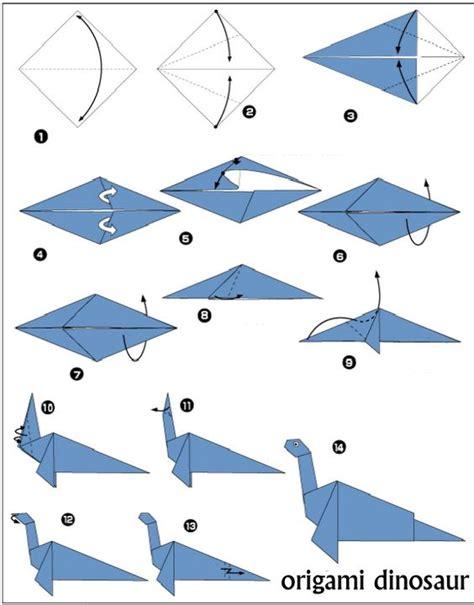 Origami Dinosaur Diagram - origami dinosaur diagrams origami fotos
