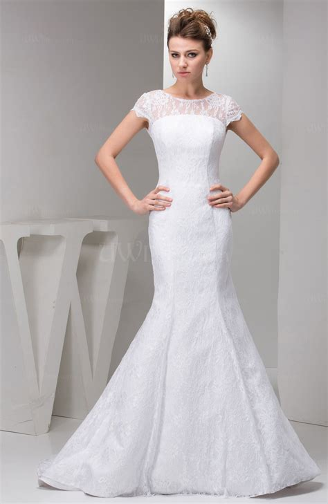 sleeves bridal gowns lace simple full figure summer