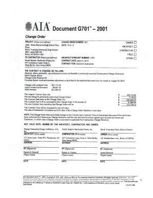 aia form a305 blank