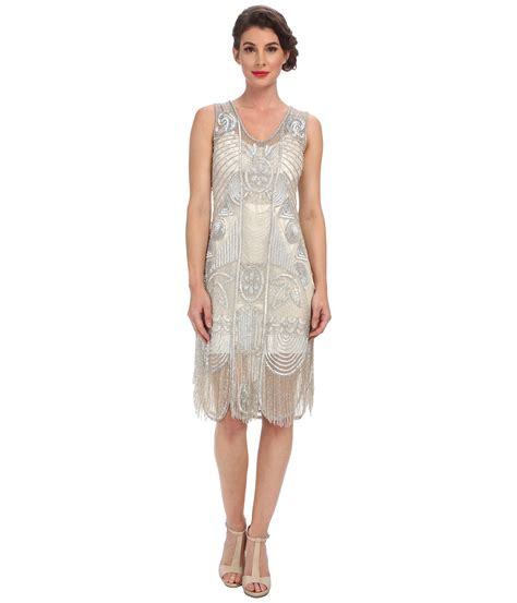 free beaded dress unique vintage the bosley beaded fringed flapper dress