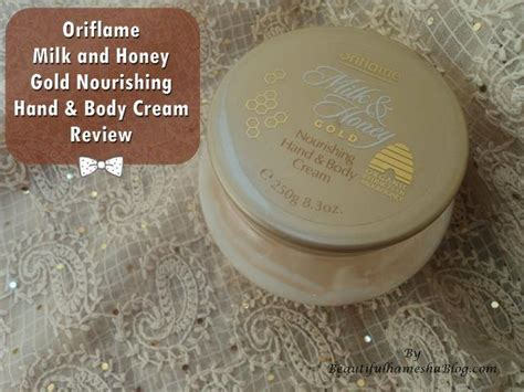 Milk Honey Hold Oriflame oriflame milk and honey gold nourishing and