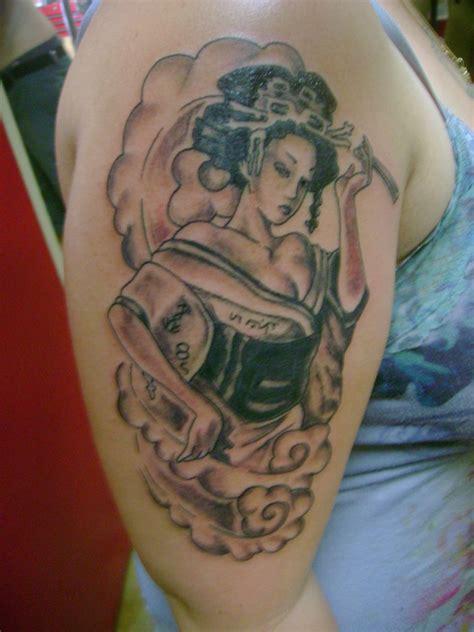 geisha tattoo art geisha tattoo by toast79 on deviantart