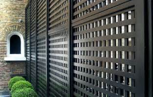 Black Garden Trellis Contemporary Trellis Panels Wooden Fence Trellis Panels