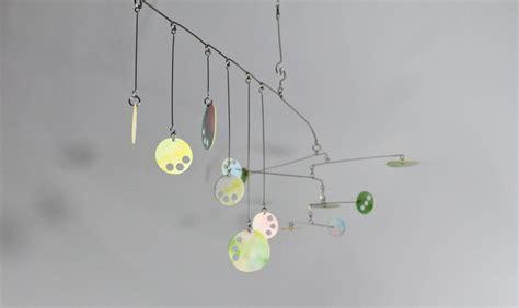 sculture mobili custom pastel mobile circle play kinetic mobile
