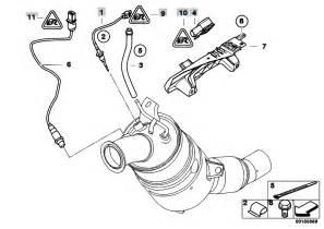 Bmw E46 320d Exhaust System Diagram Original Parts For E92 320d N47 Coupe Exhaust System