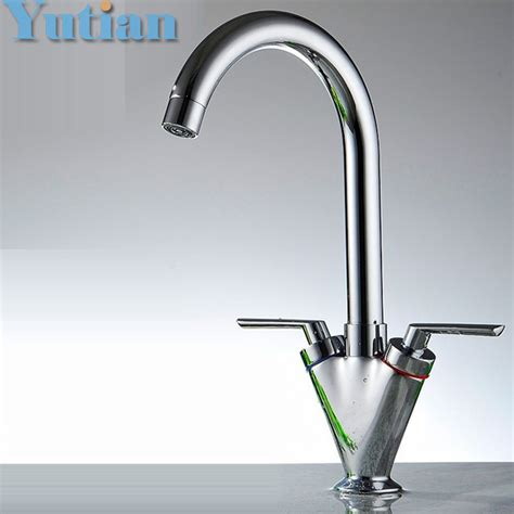 most reliable kitchen faucets aliexpress buy brass quality guarantee handle kitchen sink tap kitchen mixer