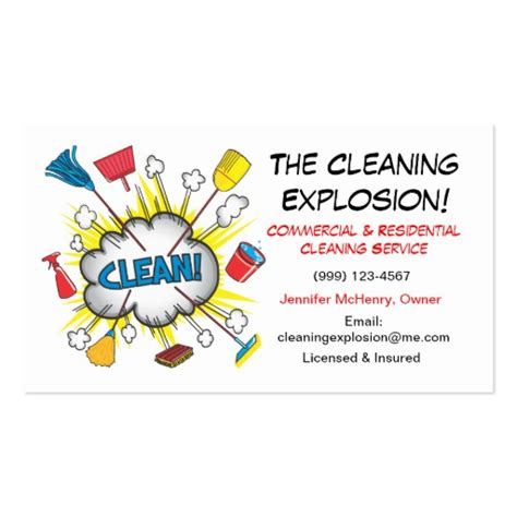 house cleaning business cards templates free cleaning service business cards zazzle