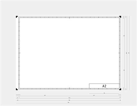 engineering drawing template sizing clipart