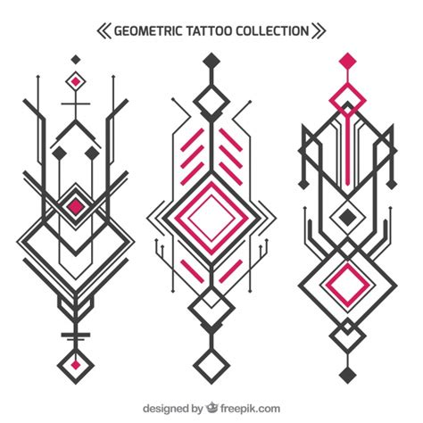 geometric tattoo vector abstract geometric tattoo collection vector free download