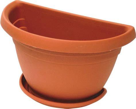 vasi a parete ics vaso in plastica per piante fiori a parete da esterno