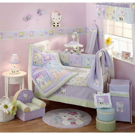 hello kitty toddler bedroom set perfect designed baby girl crib bedding sets the