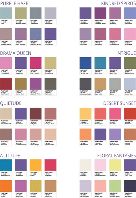 pantone color pallete ultra violet is pantone color of the year 2018