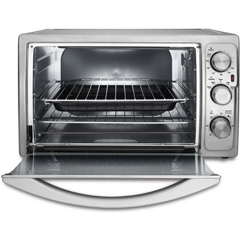 Turbo Toaster Oven oster tssttvxxll 4 slice large turbo convection toaster oven brushed stainless steel