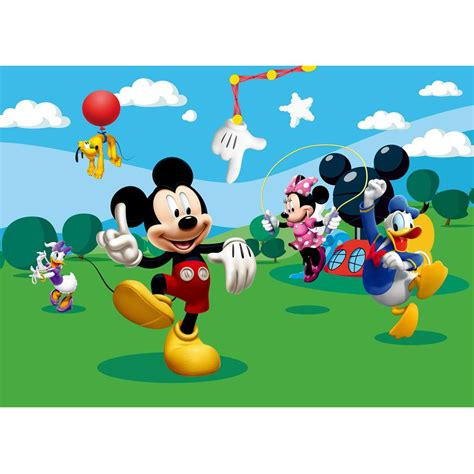 mickey mouse wall mural new mickey mouse friends large photo wall mural room