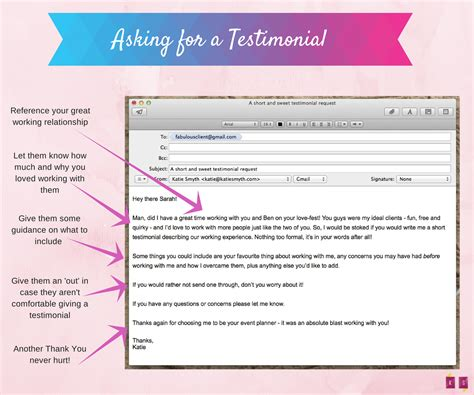 Getting Client Testimonials A Done For You Email Script Email Template Asking For Testimonials