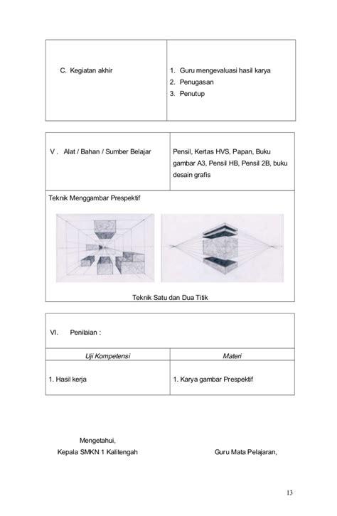 rpp desain komunikasi visual smk 072 b 08 rpp menerapkan prinsip prinsip seni grafis dalam