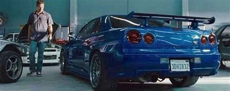 nissan skyline 2002 paul walker nissan skyline gtr r34 paul walker cars pinterest