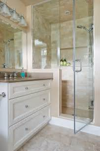 Chalk Paint Cabinets Shower Stall Tile Ideas Bathroom Traditional With Bathroom