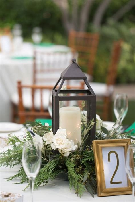 inspiring winter wedding centerpieces   big day