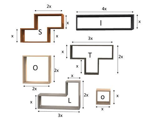 scaffale su misura scaffale tetris in melaminico