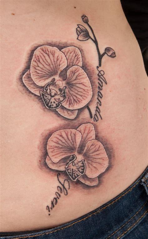 tattoo maker surat gujarat simple orchid hip tattoo tattoomagz
