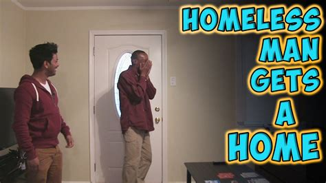 homeless gets a home