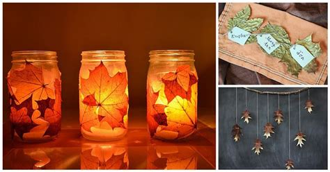 13 autumn leaf diy projects for those who fall diply