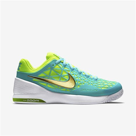 tennis shoes with lights nike womens zoom cage 2 tennis shoes light aqua white